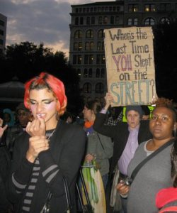 Young, trans and queer activists reminding us what really stands in the way of healthcare.